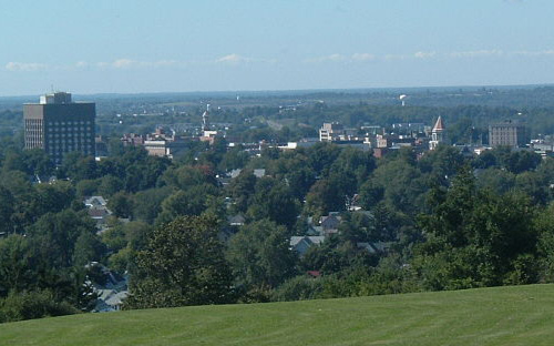 Skyline of Watertown NY